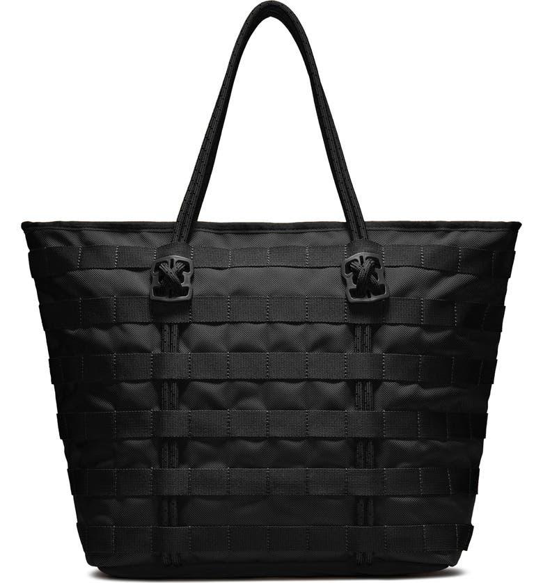 NIKE AF-1 Tote Bag, Main, color, BLACK/ BLACK