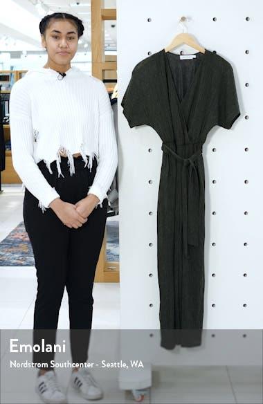 Wrap Front Dolman Sleeve Jumpsuit, sales video thumbnail