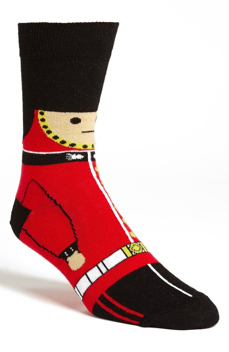 TOPMAN 'New Queen's Guard' Socks, Main, color, 600