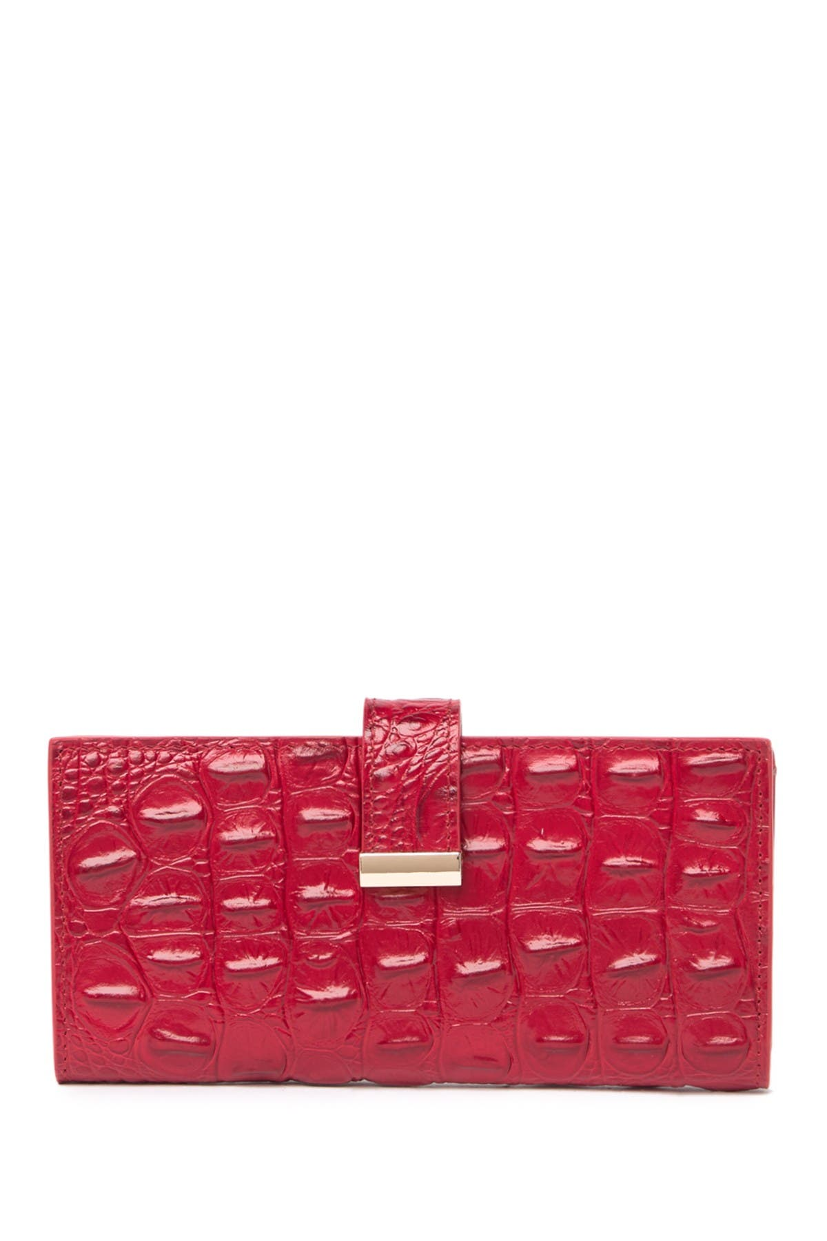 Image of Vicenzo Leather Sasha Croc Leather Wallet