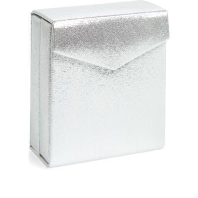 Nordstrom Fold-Up Jewelry Travel Box - Metallic