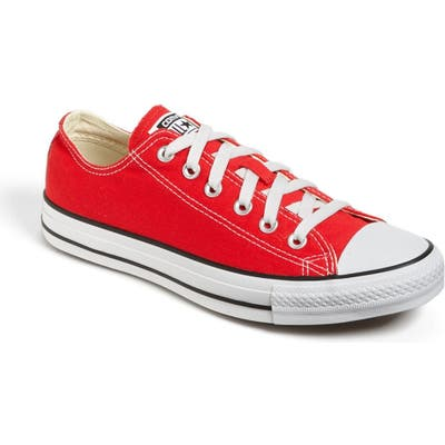Converse Chuck Taylor Low Top Sneaker, Red