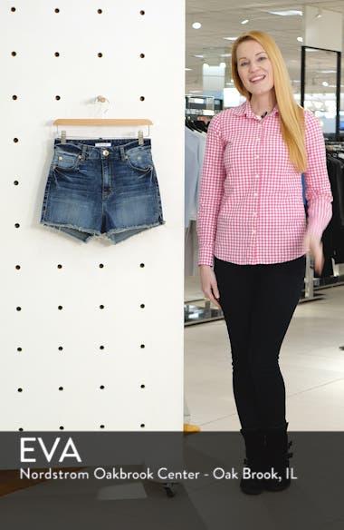 Aubrey Boyfriend Denim Shorts, sales video thumbnail