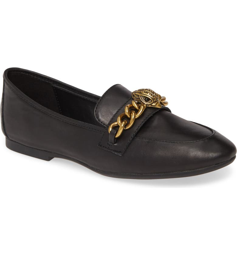 KURT GEIGER LONDON Kensington Loafer, Main, color, BLACK LEATHER
