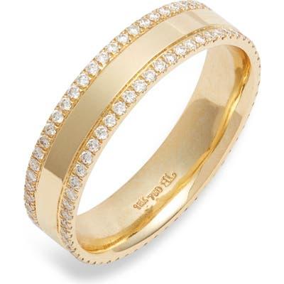 Bony Levy Kiera 18K Gold & Diamond Eternity Ring (Nordstrom Exclusive)