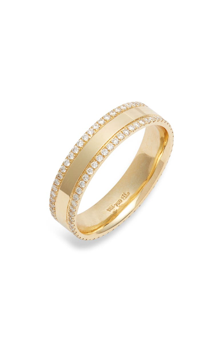 BONY LEVY Kiera 18K Gold & Diamond Eternity Ring, Main, color, YELLOW GOLD/ DIAMOND