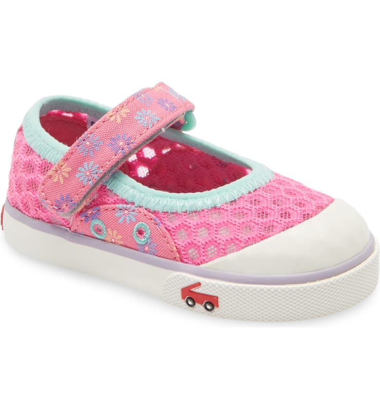 SEE KAI RUN Saylor Mary Jane Sneaker, Main, color, DAISIES