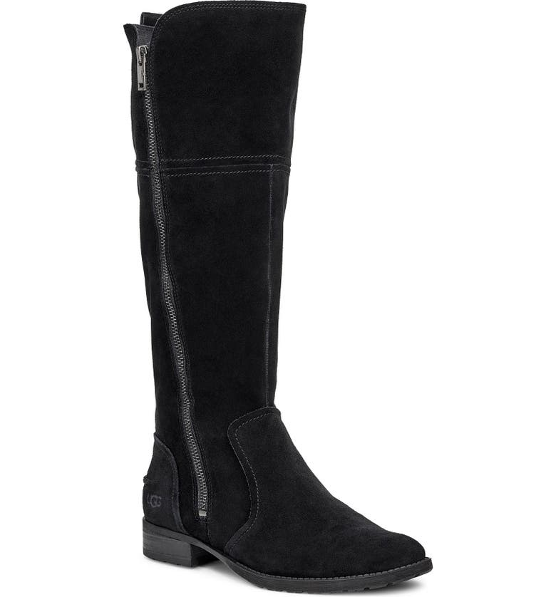 UGG<SUP>®</SUP> Sorensen Knee High Boot, Main, color, 001