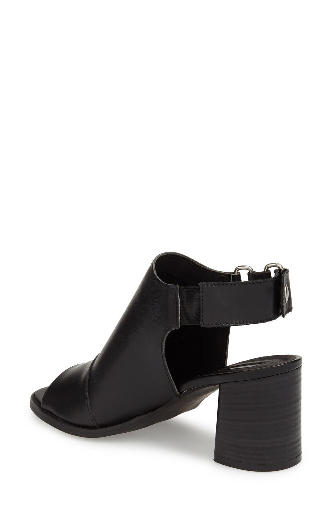 ,                             'Nimi' Slingback Round Heel Sandal,                             Alternate thumbnail 2, color,                             001