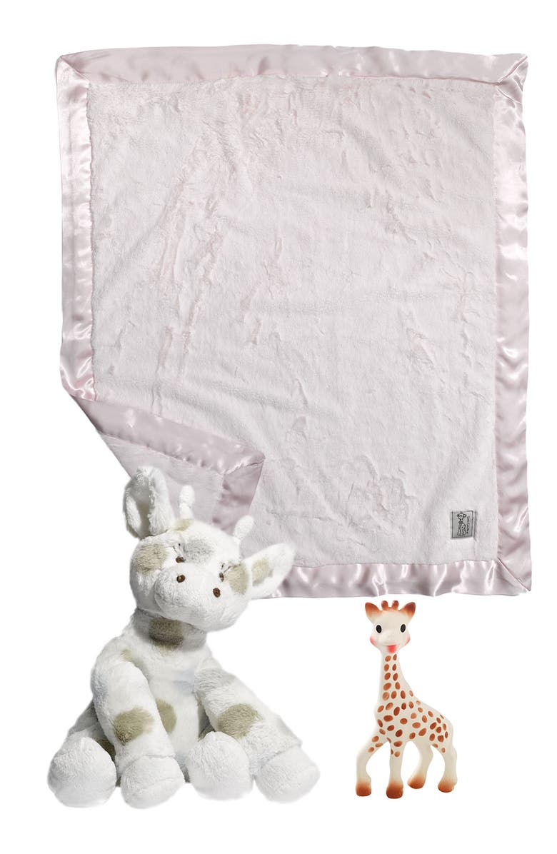 LITTLE GIRAFFE 'Little G<sup>™</sup>' Plush Stuffed Animal, Main, color, CELADON