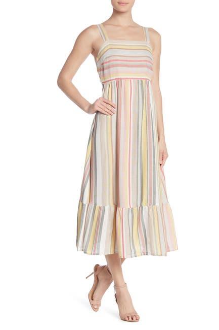 Image of Spirit of Grace Square Neck Midi Dress