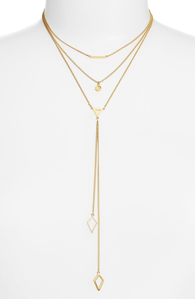 BAUBLEBAR 'Facets' Layered Necklace, Main, color, 710