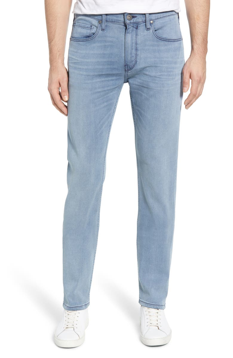 PAIGE Transcend - Federal Slim Straight Leg Jeans, Main, color, CAGE