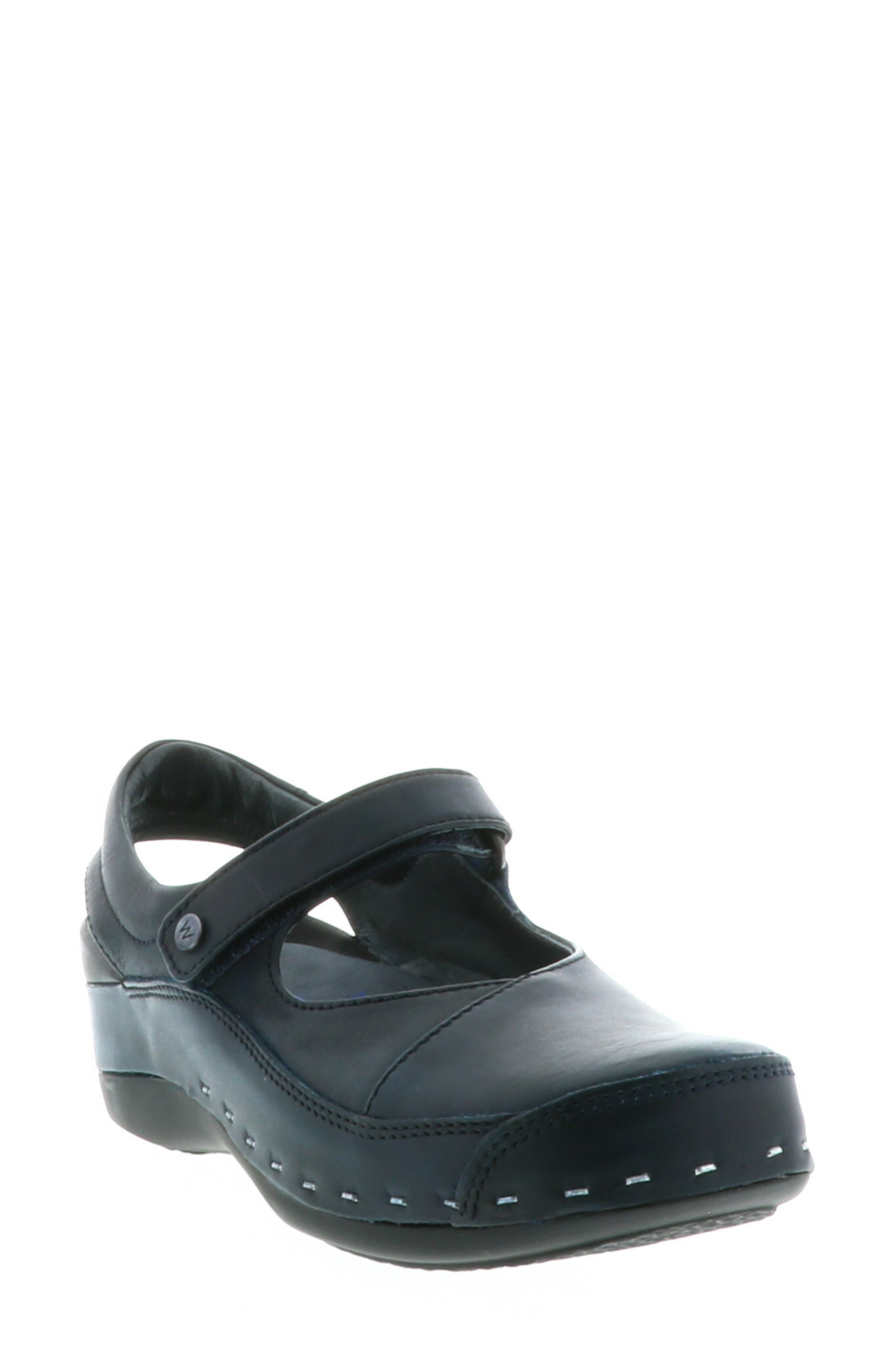 Wolky Ankle Strap Clog - Blue