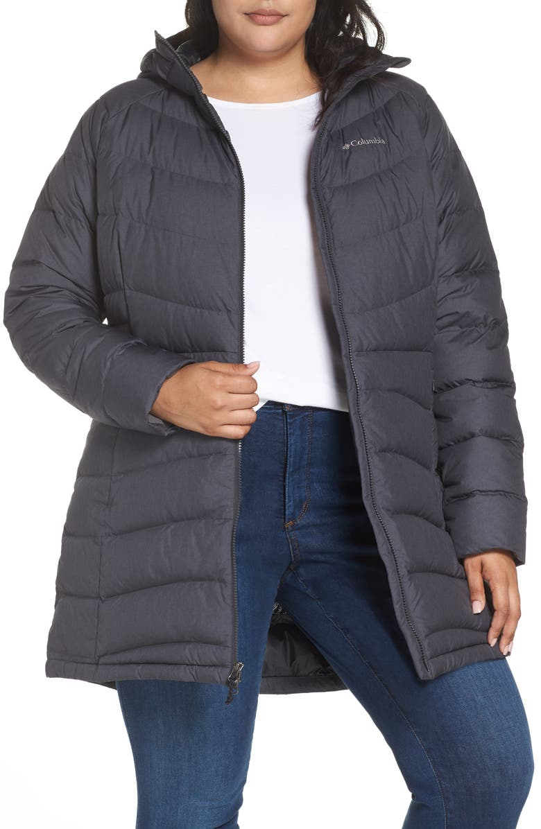 choose clearance outstanding features favorable price Winter Haven Water Resistant Hooded Quilted Down Jacket