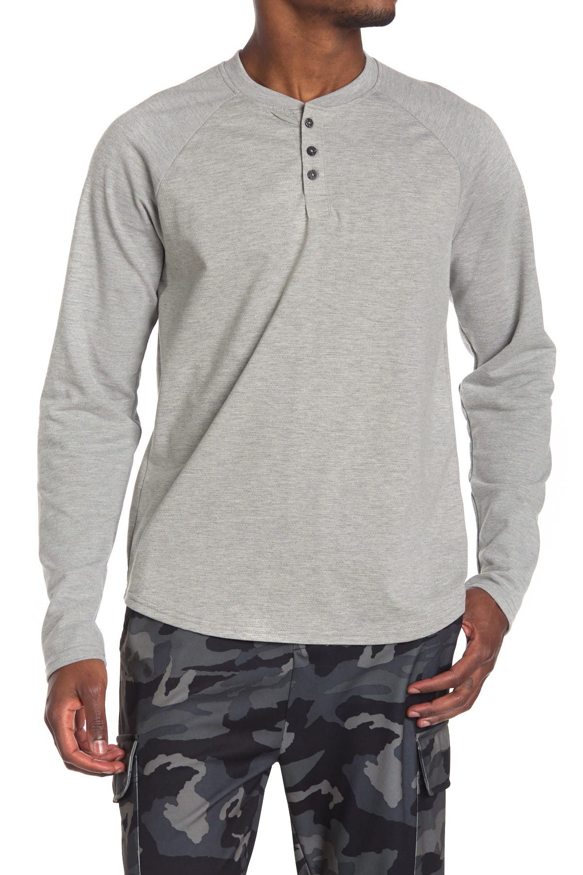 Image of Sovereign Code Fade Knit Henley
