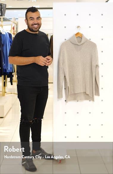 Cashmere Bouclé Turtleneck Sweater, sales video thumbnail