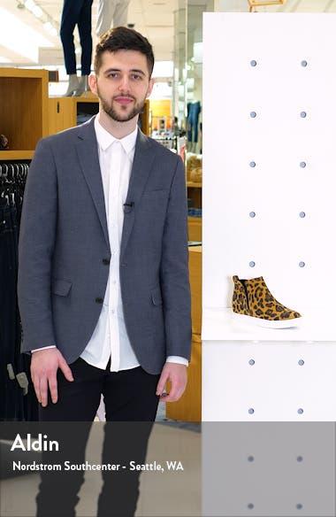 Georgette Waterproof Hidden Wedge Sneaker, sales video thumbnail