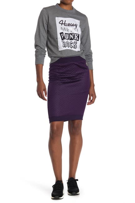 Image of LOVE Moschino Skirt With Quilted Fleece