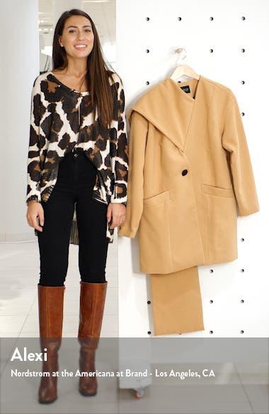 Scarf Collar Coat, sales video thumbnail