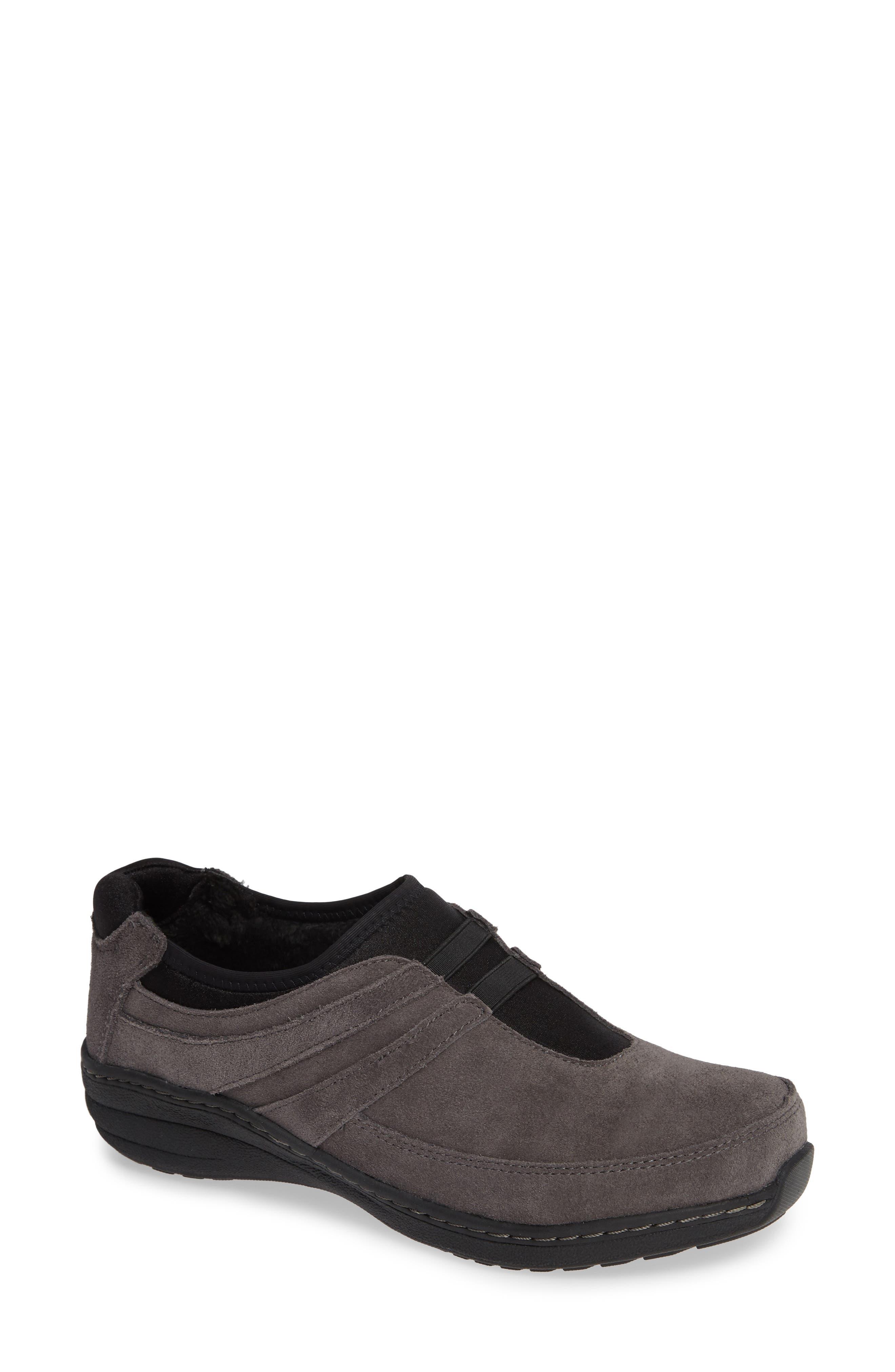 Aetrex Berries Slip-On Sneaker - Grey