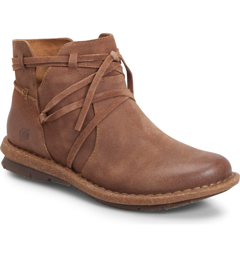 BØRN Tarklin Bootie, Main, color, NATURAL LEATHER