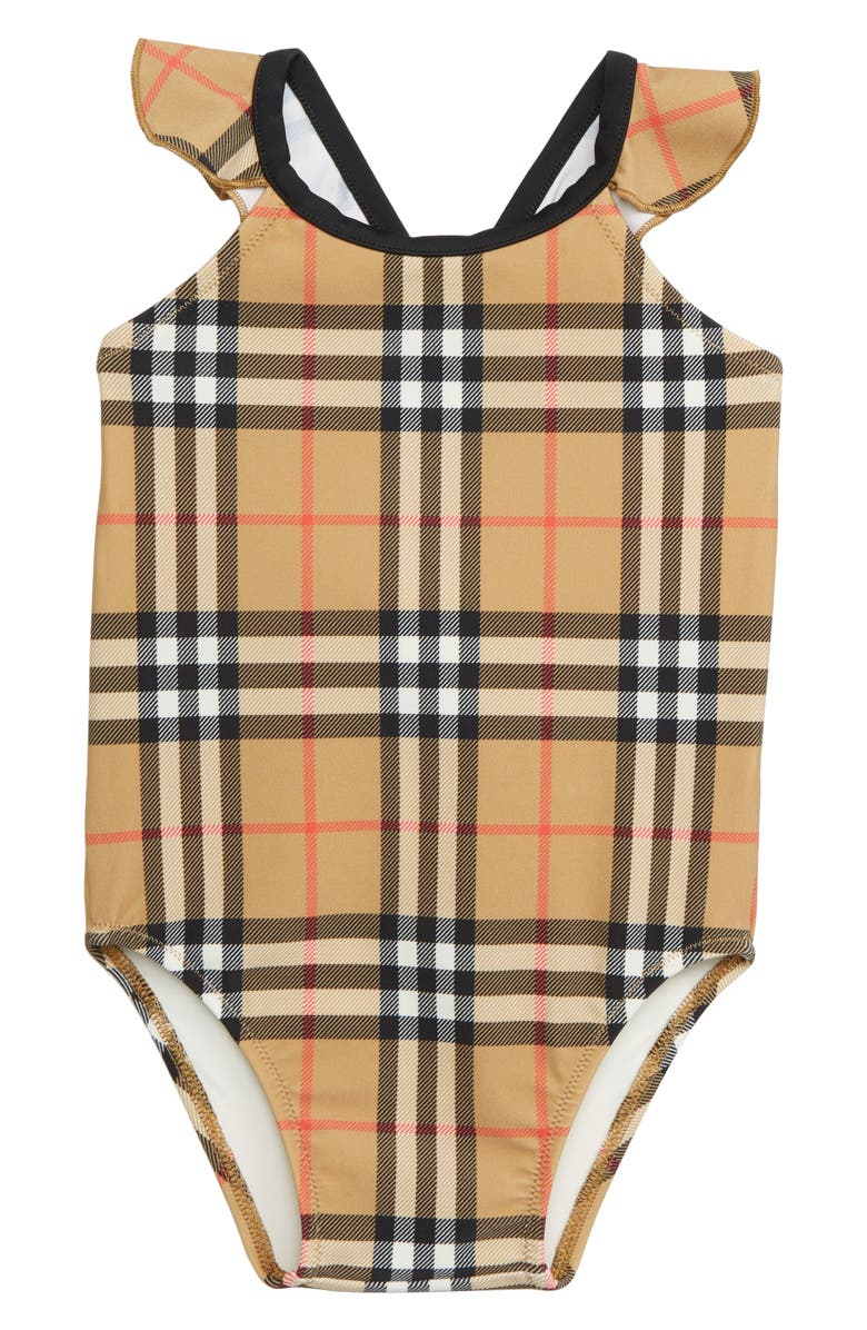 259952d4071 Burberry Crina One-Piece Swimsuit (Toddler Girls) | Nordstrom