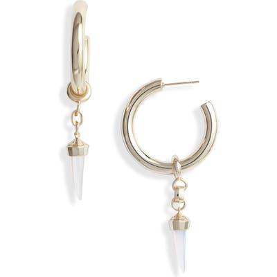 Kendra Scott Samuel Charm Hoop Earrings