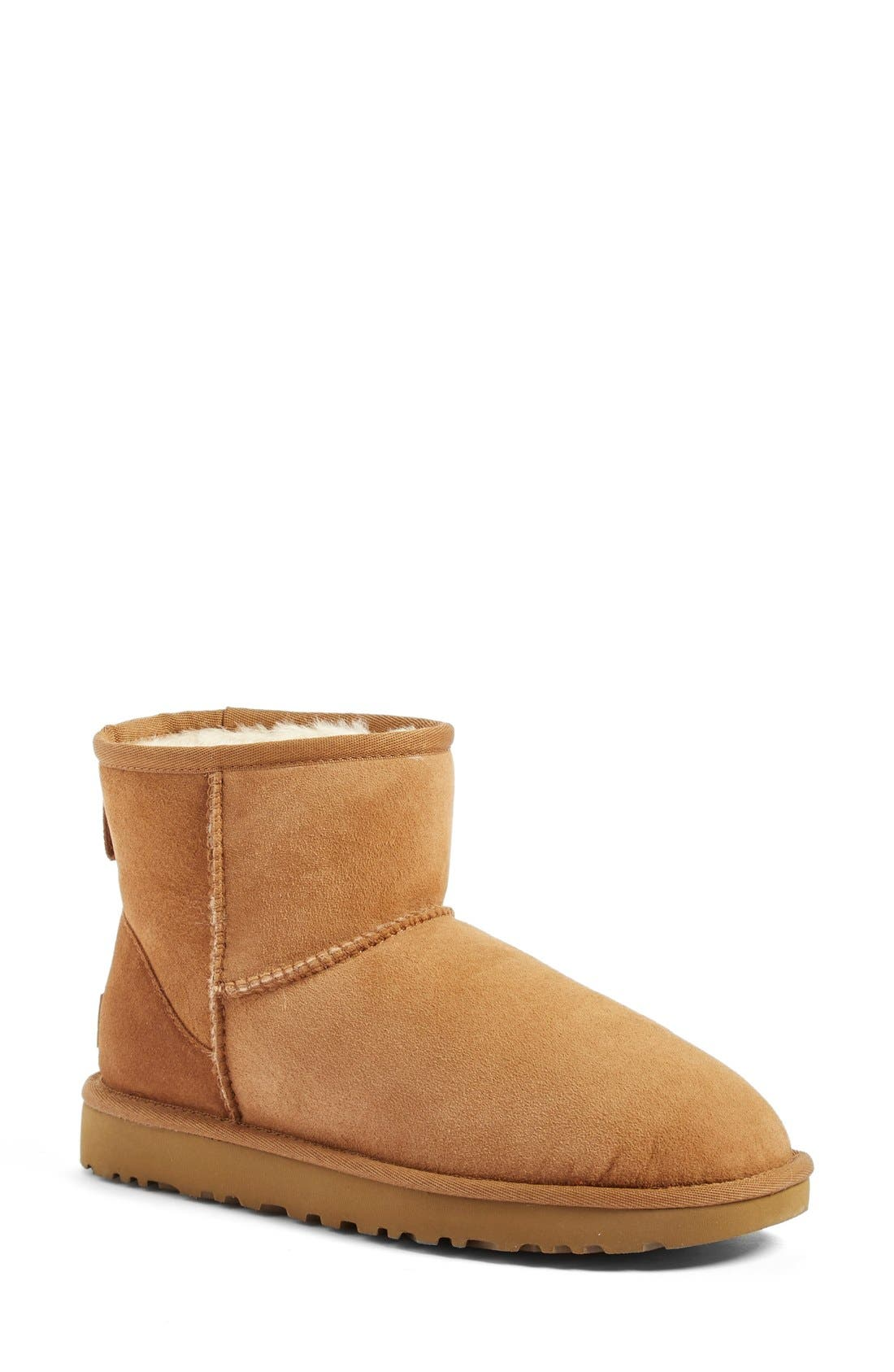 UGG® Classic Mini II Genuine Shearling Lined Boot (Women)
