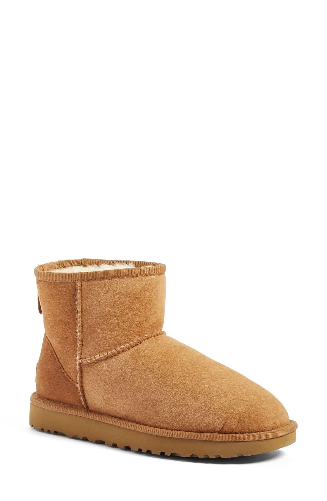 ,                             Classic Mini II Genuine Shearling Lined Boot,                             Main thumbnail 126, color,                             219