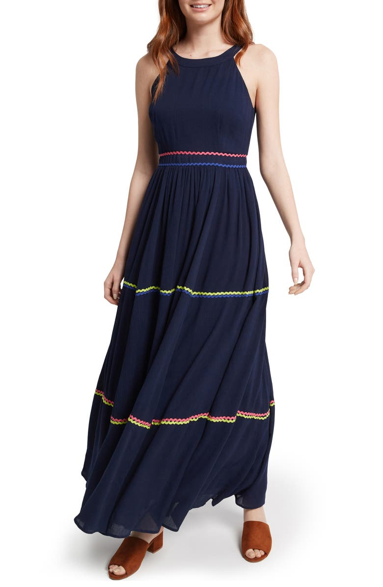 Tiered Maxi Dress by Modcloth
