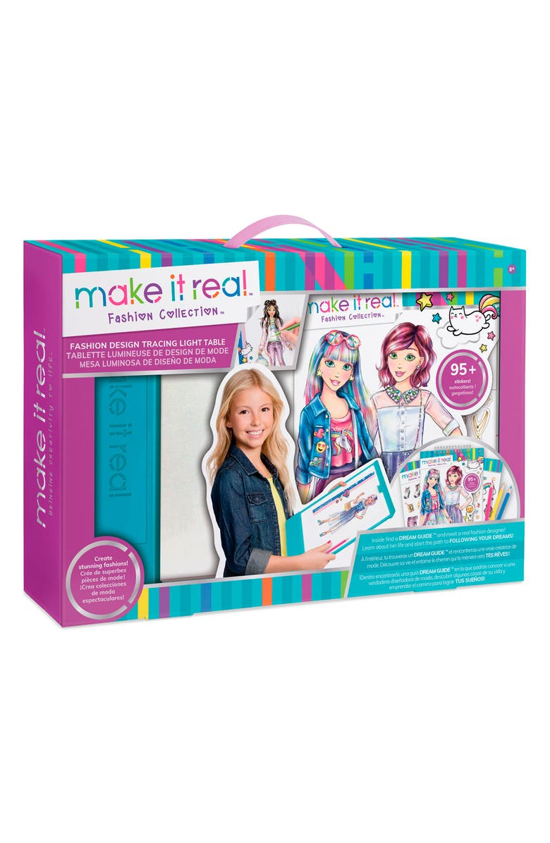 Make It Real Fashion Design Mega Set With Light Table Fashion Kit Nordstrom