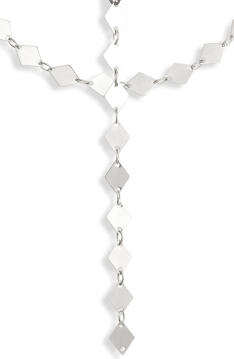 MAD JEWELS Mirror, Mirror Layered Y-Necklace, Main, color, 040