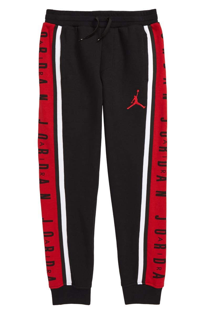 JORDAN Jumpman Jogger Pants, Main, color, BLACK