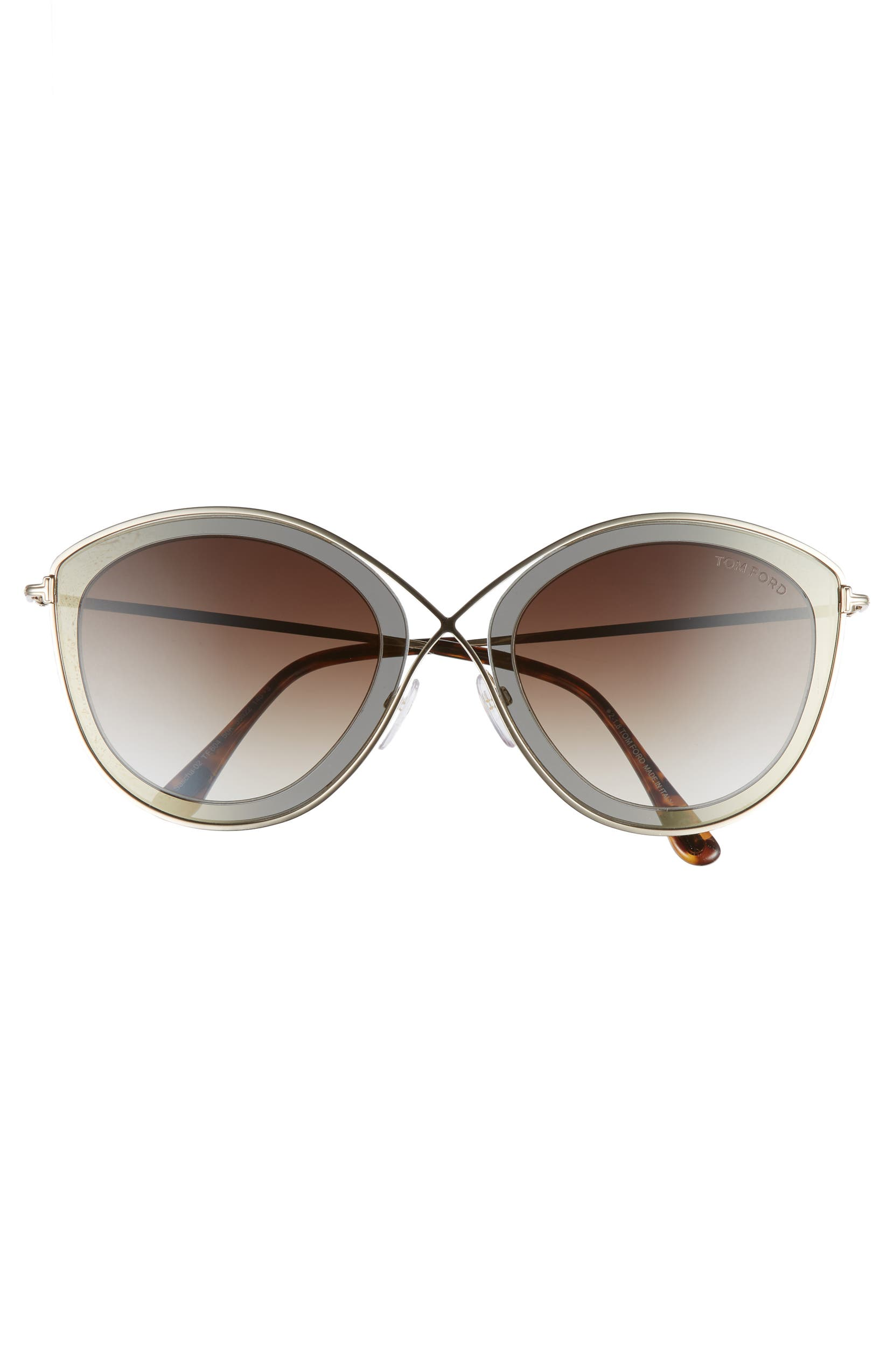 2f765cd2fe Tom Ford Sascha 55mm Butterfly Sunglasses
