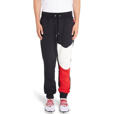 Moncler Colorblock Sweatpants, Blue