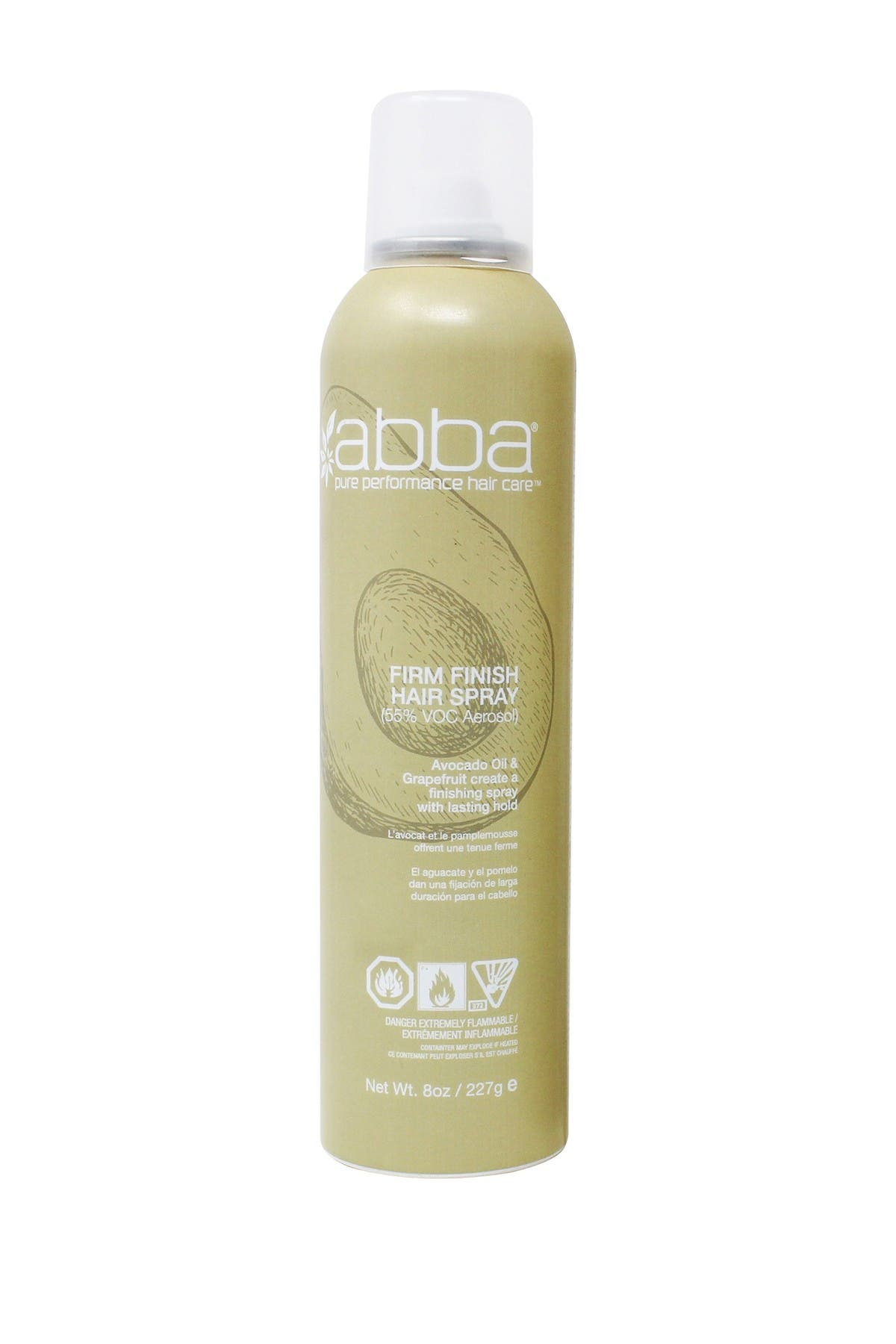Image of ABBA Firm Finish Hairspray - 8 oz.