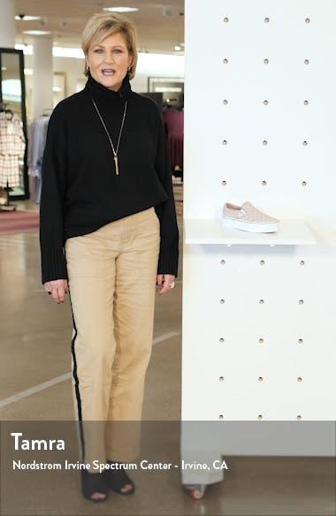 Classic Slip-On Suede Platform Sneaker, sales video thumbnail