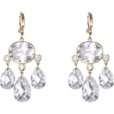 Nina Briolette Chandelier Earrings