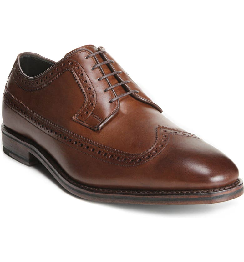 ALLEN EDMONDS Greene Street Wingtip, Main, color, COFFEE