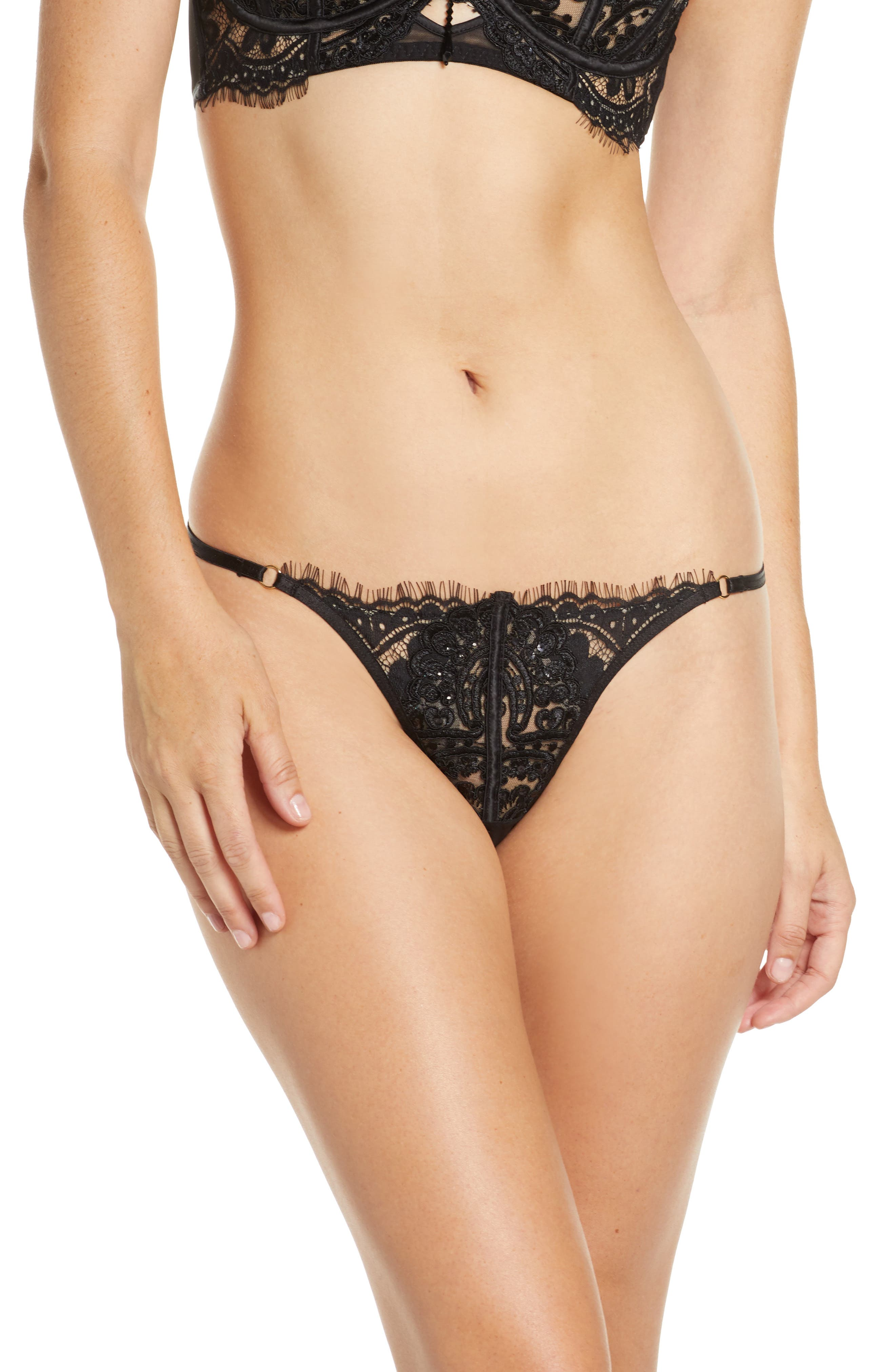 Fiercely Sexy Open Gusset G-String