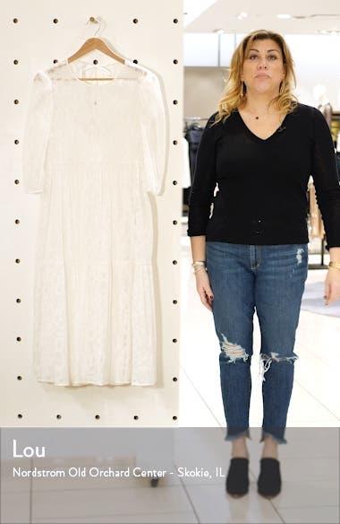 Babydoll Crinkled Midi Dress, sales video thumbnail