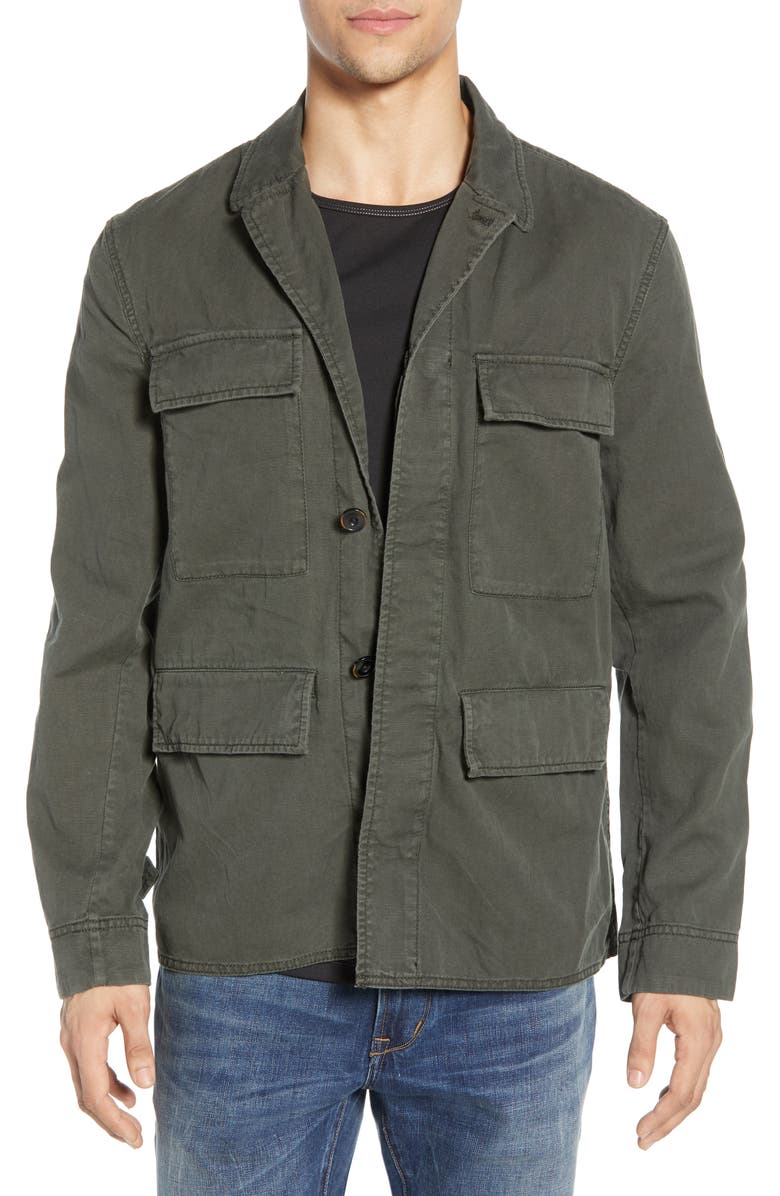 JOHN VARVATOS STAR USA Perry Embroidered Jacket, Main, color, 315