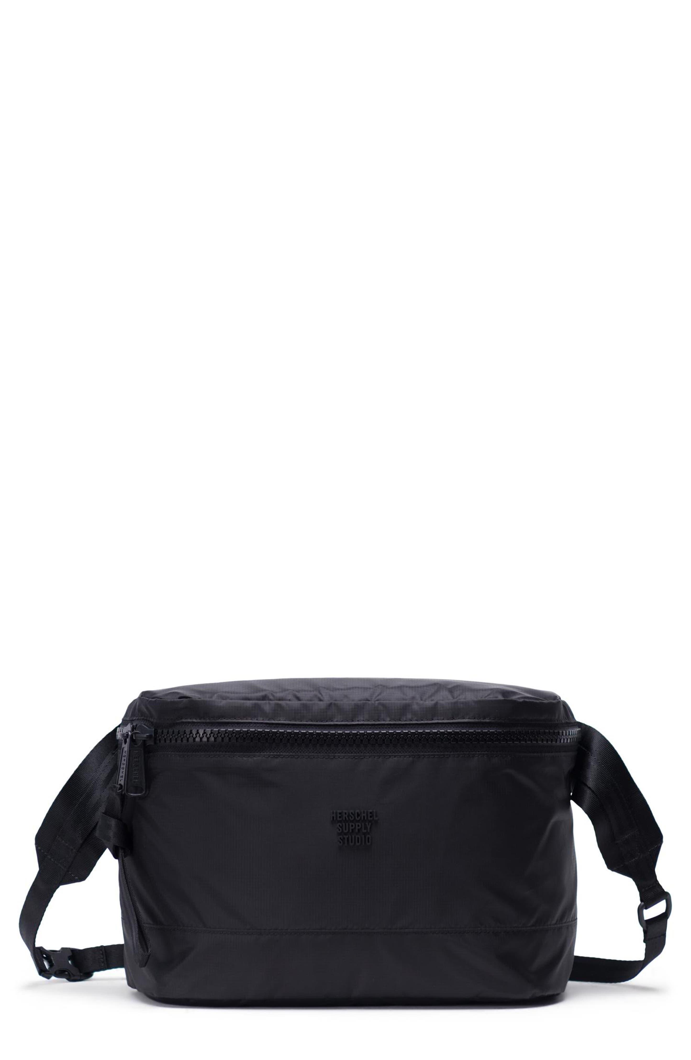 HS9 Studio Collection Hip Pack, Main, color, BLACK
