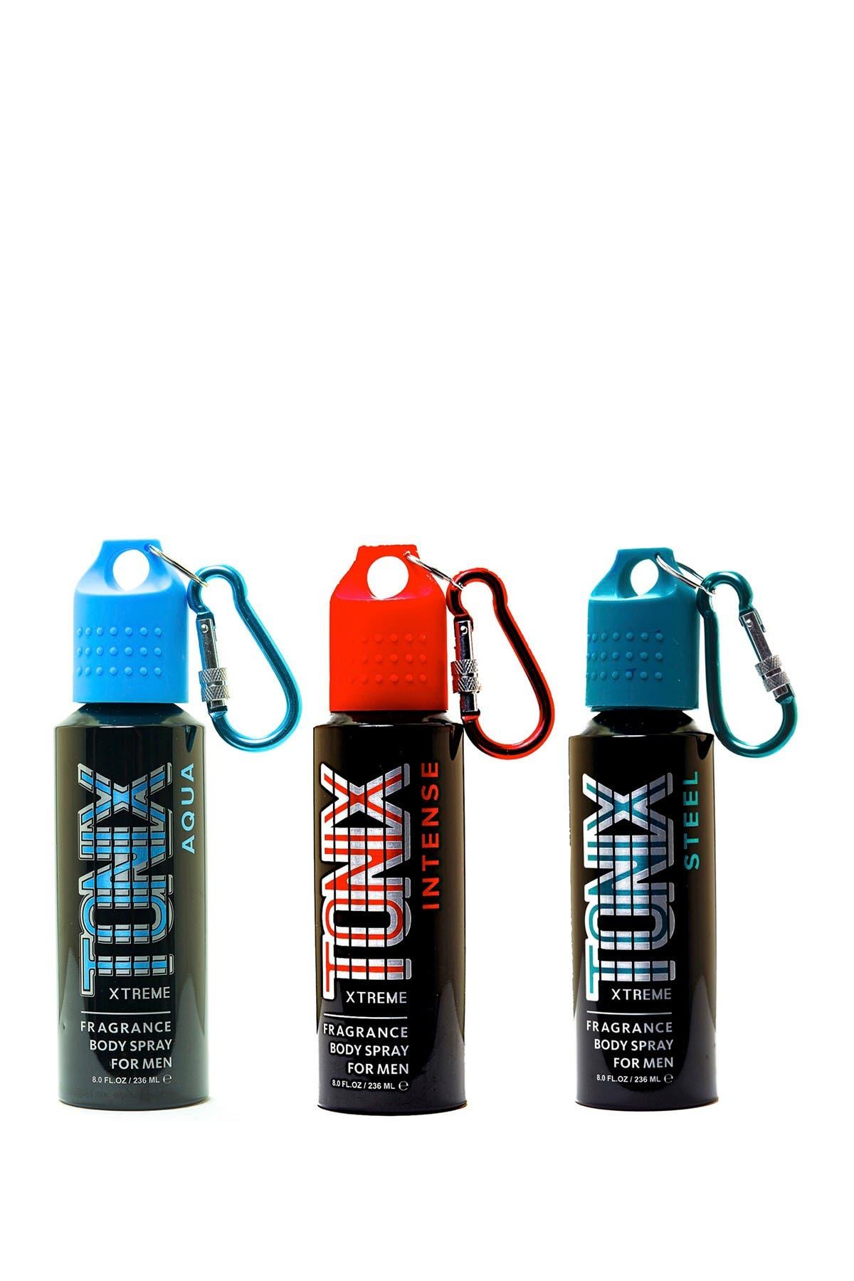 Image of Tonix 3-Piece Body Spray Set