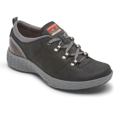 Rockport Fresh Explore Waterproof Sneaker, Black