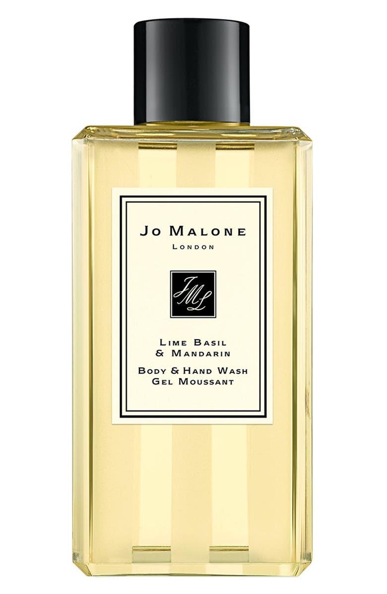 JO MALONE LONDON<SUP>™</SUP> Lime Basil & Mandarin Shower Gel, Main, color, 000