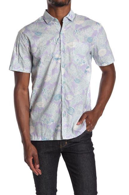 Image of TORI RICHARD Reef Story Short Sleeve Shirt