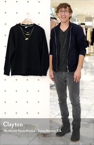 Sportswear Embroidered Glam Fleece Sweatshirt, sales video thumbnail