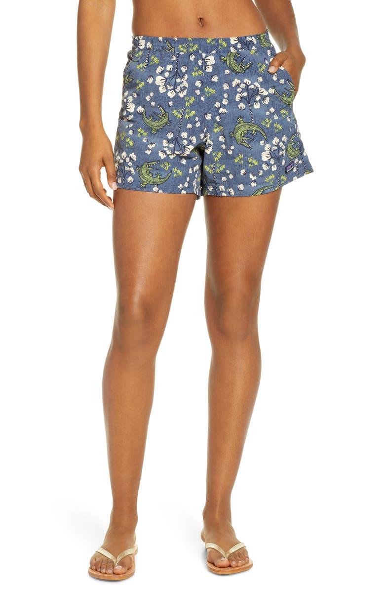 PATAGONIA Baggies Water Repellent Shorts, Main, color, 417